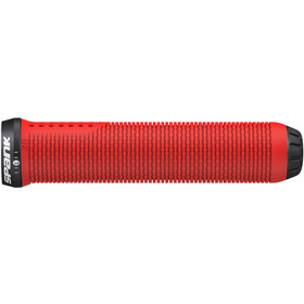 Spank Spike 30 Lock-On Handvaten, red